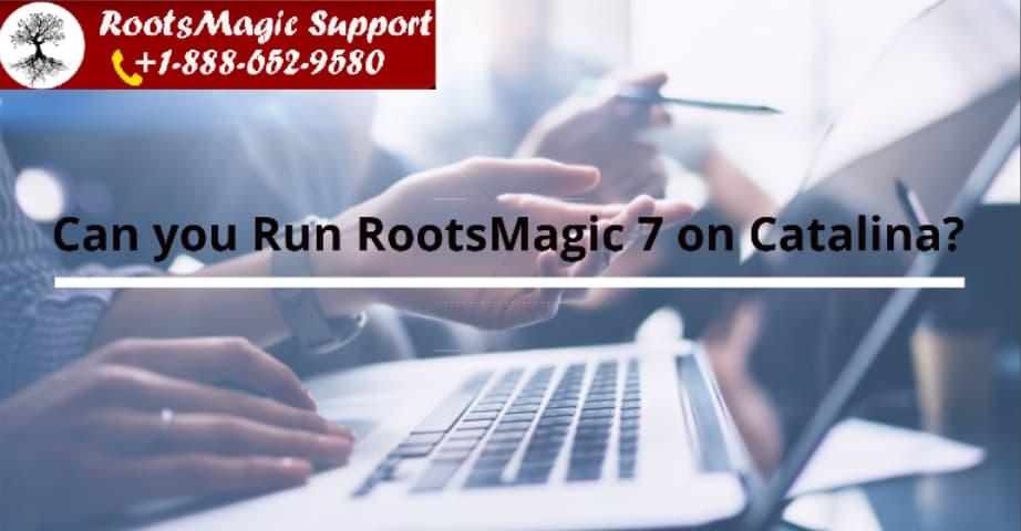 RootsMagic 7 on catalina