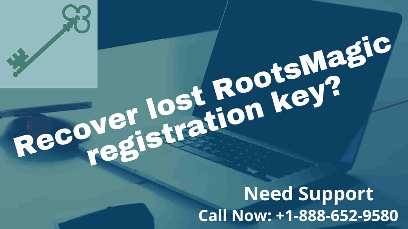 Recover lost RootsMagic Registration Key