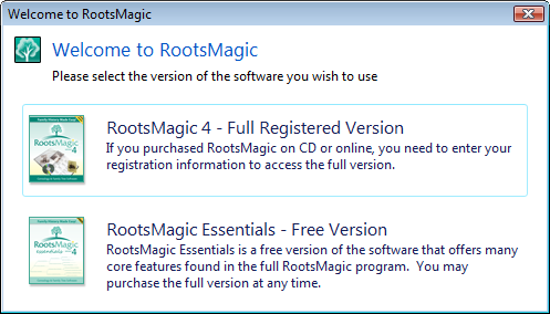 RootsMagic Essentials download free