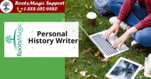 personal history writer